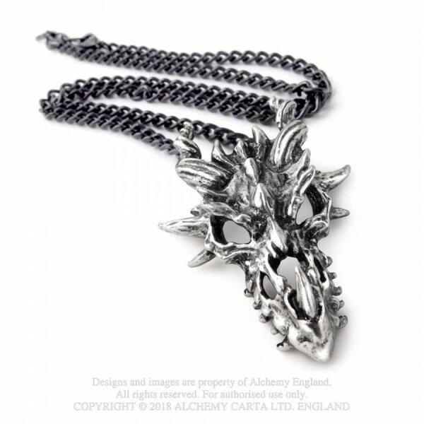 Dragon Skull pendant  by Alchemy