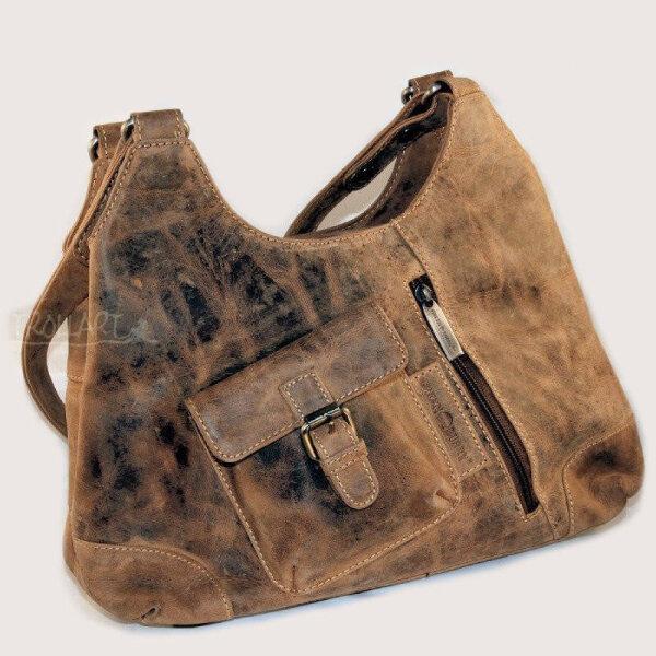Handtasche, Shopper, Leder, von Greenburry