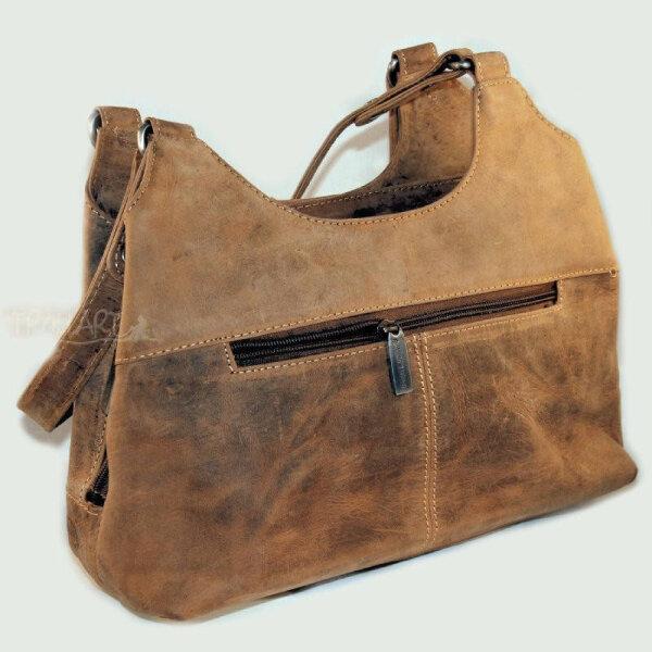 Shopper, leather handbag, Vintage, by Greenburry