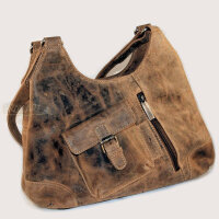 Shopper, leather handbag, Vintage, by Greenburry