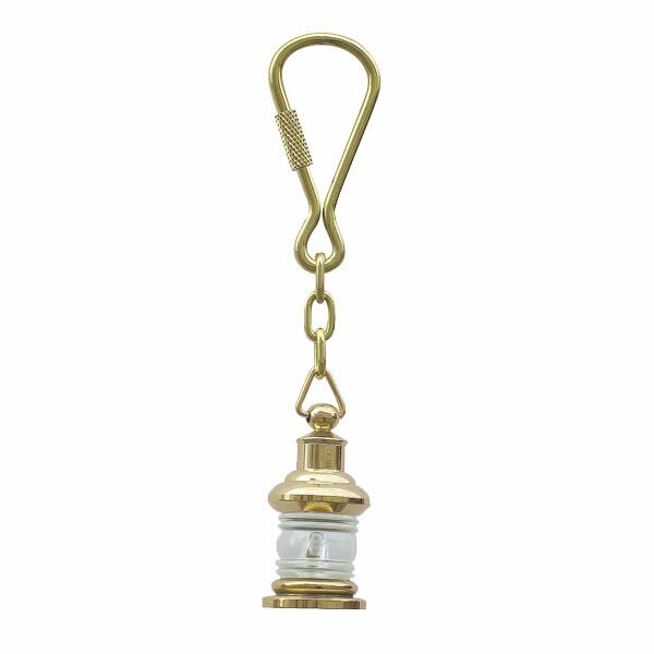 Key fob, Anchor Lamp, Brass