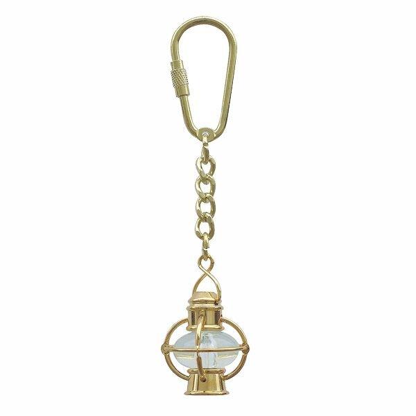 Schlüsselanhänger, Kugellampe, Messing