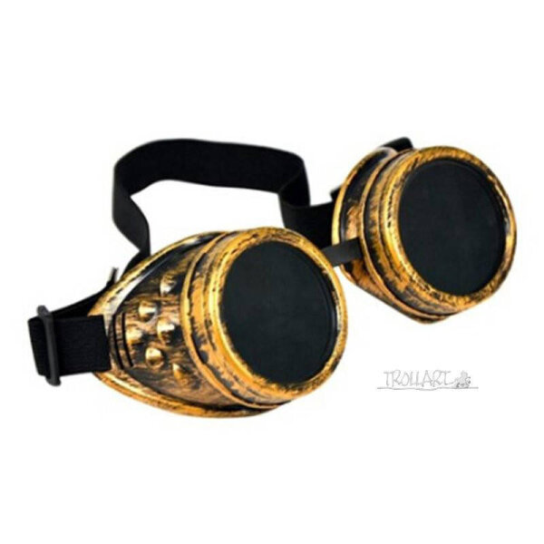 Goggles, gold