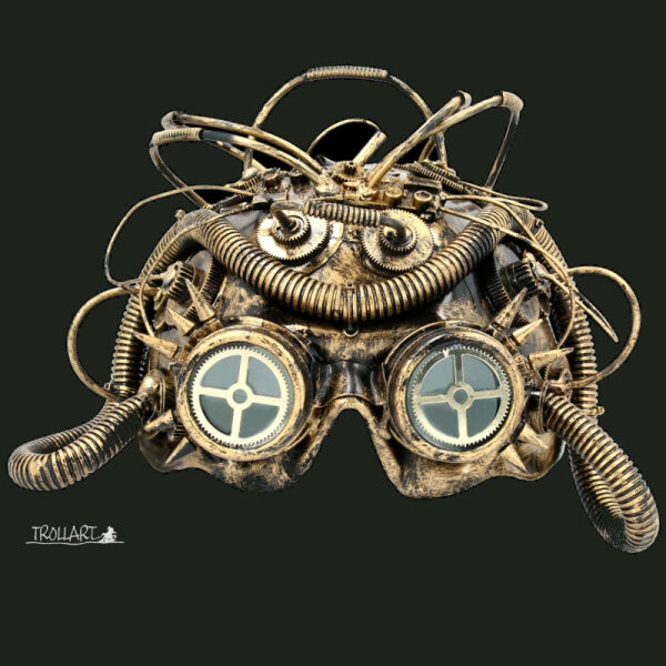 Dark Cyber Mind, Steampunk mask