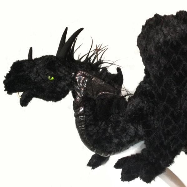 Draco nero, großer Drache XXL
